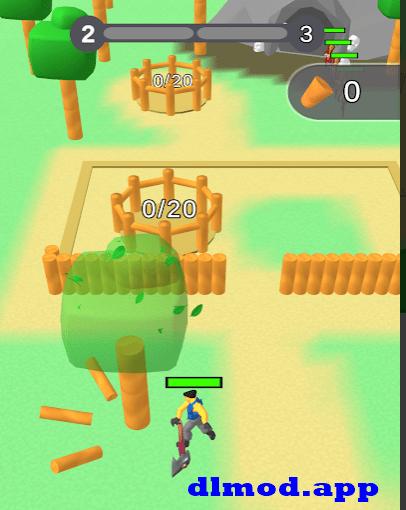 Lumbercraft mod apk