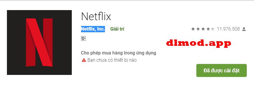 Netflix MOD tiếng Việt