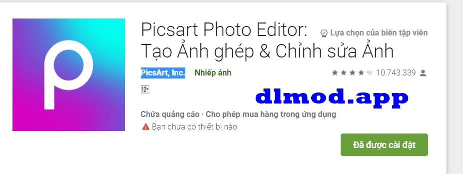 PicsArt MOD full