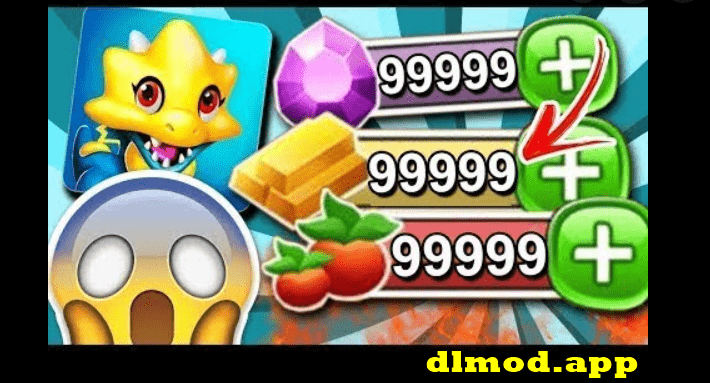 Dragon city mod 99999 gems