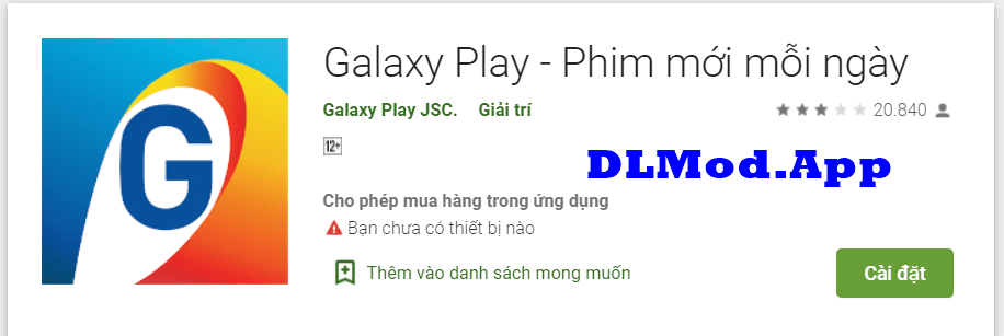 Galaxy Play Mod VIP