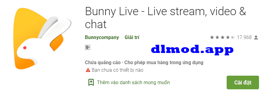 Bunny Live mod apk