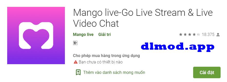 mango live mod