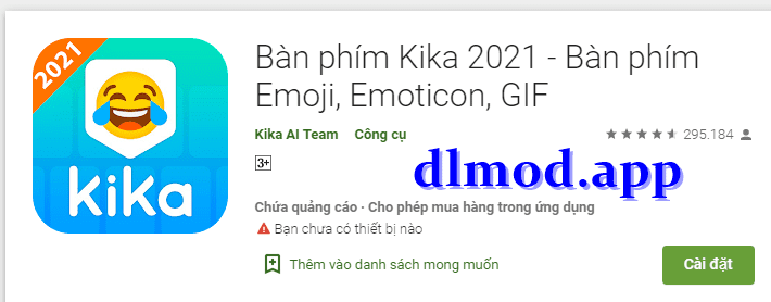 Kika Keyboard mod pro apk