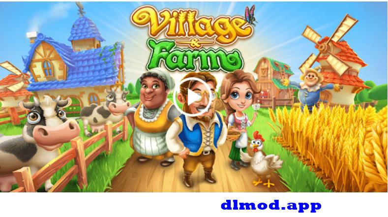 Làng trang trại mod tiền