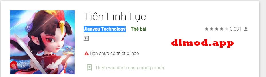Tiên Linh Lục mod apk